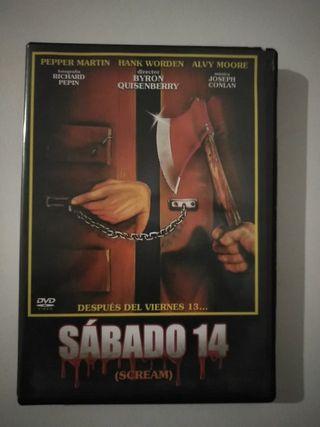 dvd terror Sábado 14