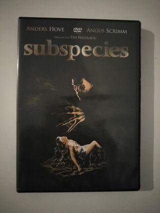 dvd terror Subspecies