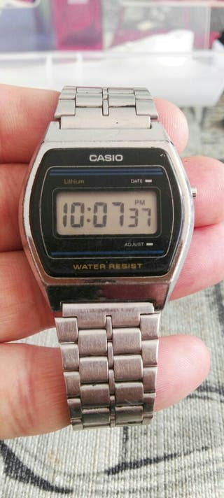 reloj casio años 80