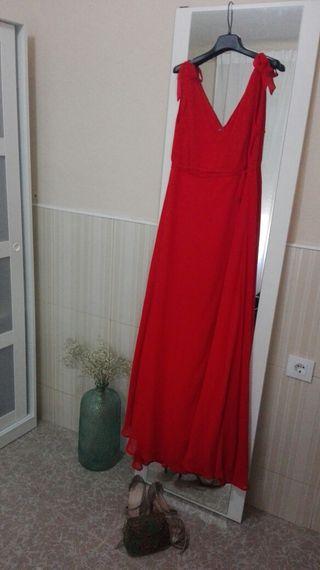 12680c2f6616 Vestido de fiesta El Corte Inglés de segunda mano en WALLAPOP