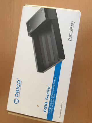 """Base de Conexión USB 3.0 discos de 2,5 """"y 3,5"""""""