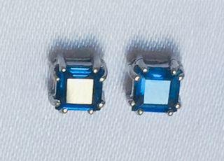 Zafiros naturales espectacular azul