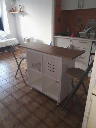 Mesa de Cocina de segunda mano en Madrid en WALLAPOP