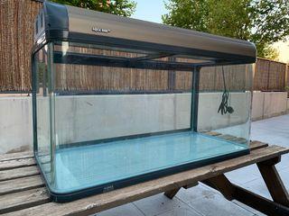Espectacular acuario con todo lo necesario