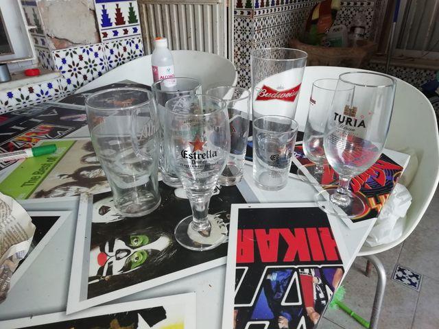 vasos. tazas. copas. vajilla. jarras cerveza etc