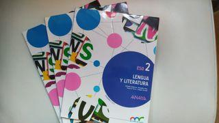 Libro Lengua y Literatura 2. ISBN 9788469814208
