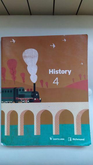 Libro HISTORY 4 ESO STUDENT'S BOOK - 9788468040431