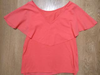 Camiseta coral nueva Pedro del Hierro T. M