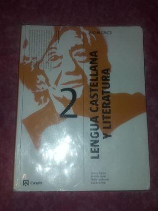 LIBRO DE LENGUA Y LITERATURA 2 BACHILLERATO CASALS