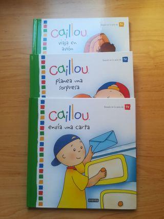 Colección de libros de Caillou