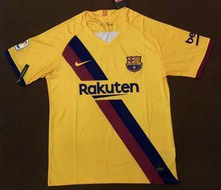 Camiseta Barcelona 2020 Barça Amarilla segunda
