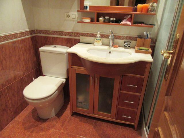 KIT de Baño (Mueble lavabo + Espejo + Armario)