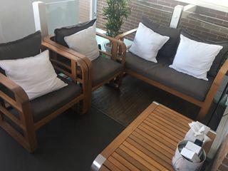 Conjunto mobiliario jardín
