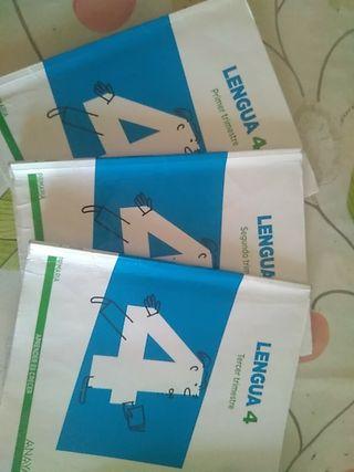 libros 4 primaria lengua