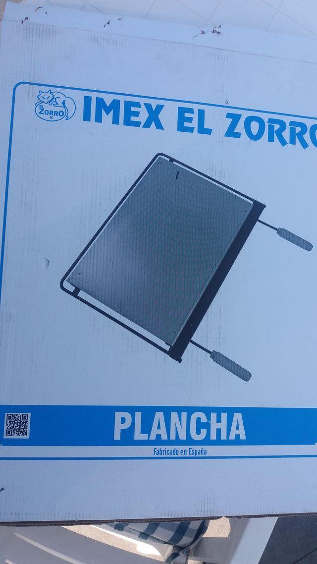 Plancha para Barbacoa, Hierro, 60 x 41 cm