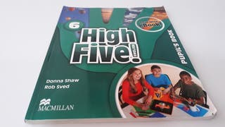 Libro Ingles High Five 6 primaria.