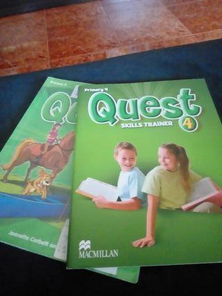 libros de ingles 4° primaria