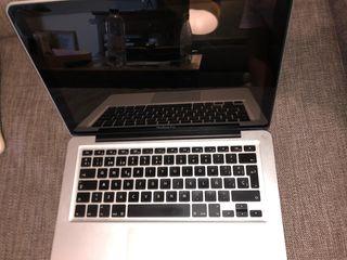 """macbook pro 13"""" mediados 2012"""