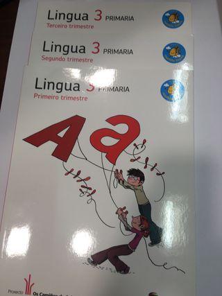 Lingua 3 Primaria Santillana Estrenar