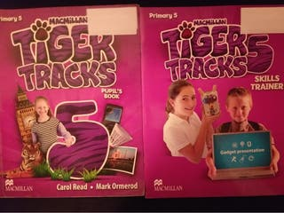 2 Libros de inglés 5 primària