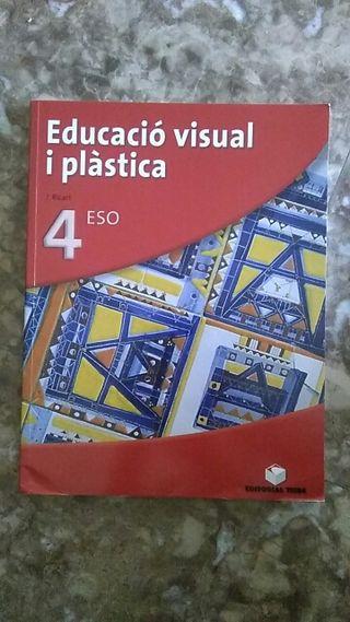 Libro Educació visual i plàstica 4°ESO