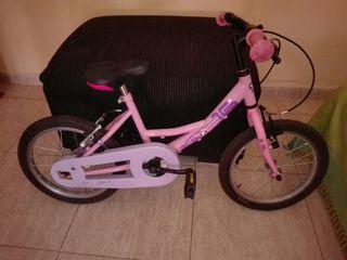 Bicicleta niña de niña topbike rosa