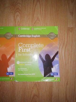 libros de Inglés Complete First