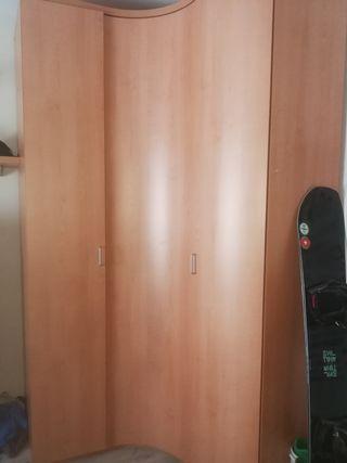 Armario 3 puertas esquinero