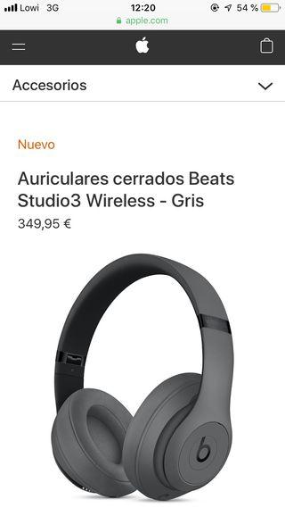 Beats Studio3 Wireless - Gris