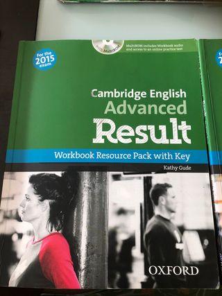 Libro de texto Inglés Cambridge Advanced