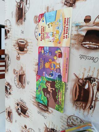 colección libros español _inglés baby disney
