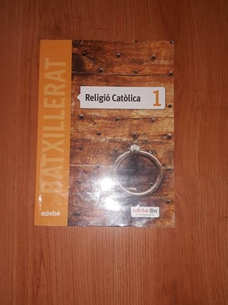 Libro Religion Primero Bachillerato Edebé