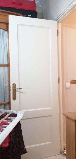 6 puertas de madera 95€