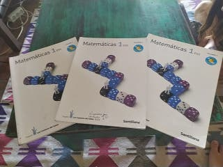 libros matemáticas 1°eso