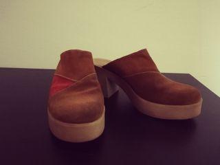 Zapato de Tacon Grueso