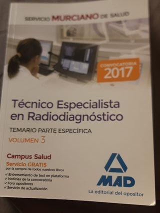 temario tecnico rayos servicio murciano de salud