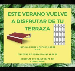 OFERTA EN TOLDOS Y REJAS!!