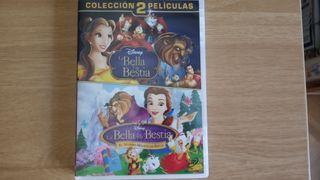 DVD La bella y la bestia, 2 películas