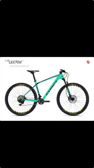 "Bicicleta Ghost Lector 3.7 27'5"""