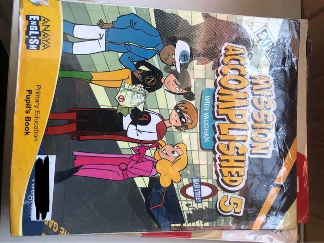 Libro de inglés 5º de primaria