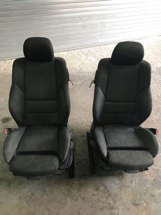 Asientos Bmw 320 E46 calefactados