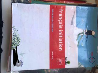 Libro de francés de 4º de primaria