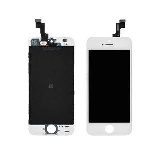 Pantalla LCD completa iPhone SE blanca