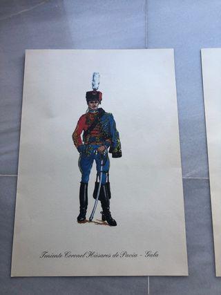 Serigrafías de uniformes militares
