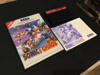 SONIC Chaos SEGA Master System SMS PAL Completo