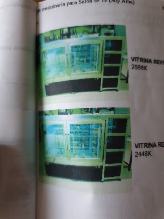 vitrina refrigerador expositor