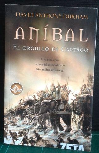 LIBRO: ANIBAL - EL ORGULLO DE CARTAGO