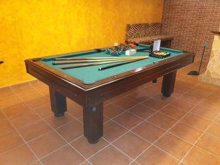 mesa de billar dual