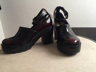 Zapatos plataforma PULL&BEAR