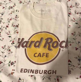 Camiseta hard rock Edimburgo